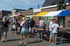 Tafeltennisvereniging Smash op braderie in Monster 2015