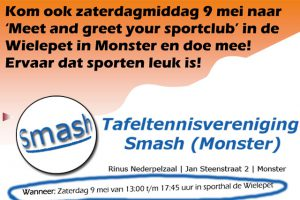 Meet en greet tafeltennisvereniging Smash - 2015