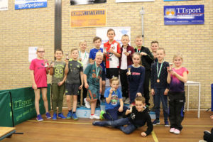 Kindertafeltennisfeest 2019 Smash
