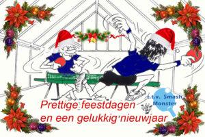 Prettige feestdagen en een gelukkig nieuwjaar